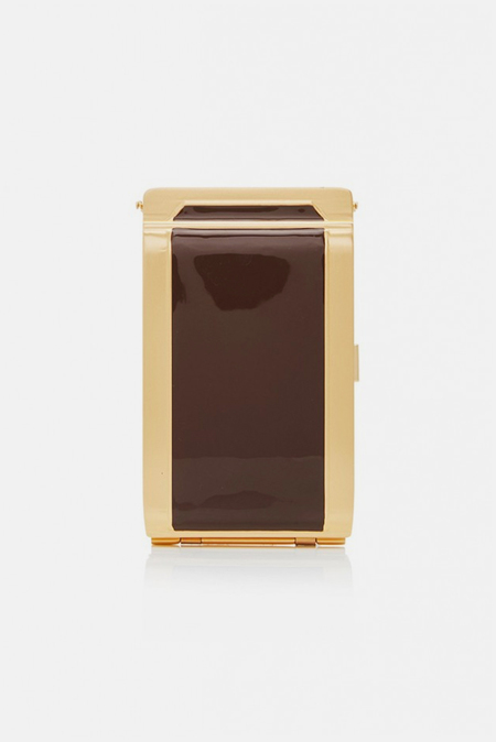Zimmermann Cigarette Case - Chocolate