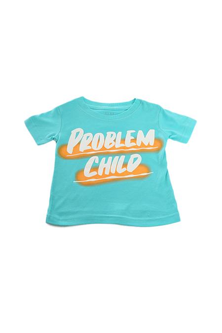 Kids Baron Von Fancy Problem Child T-Shirt - Teal