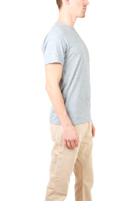 Rag & Bone Tweed T-Shirt - Blue