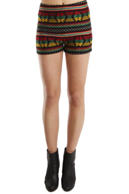 Kenny Gaudalajara Shorts - Black/Rainbow
