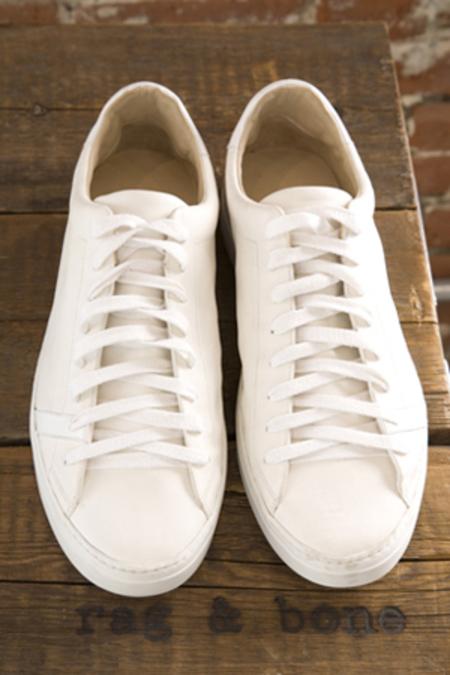 Rag & Bone Trainer shoes - White Leather