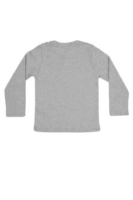 Kids  Kenzo Eye Longsleeve T-Shirt - Grey
