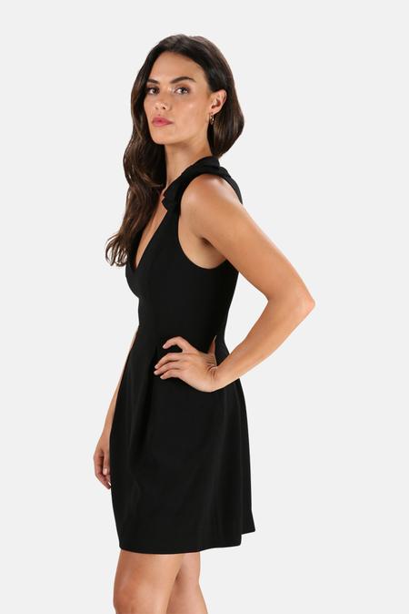 Zimmermann Espionage Bow Mini Dress - Black