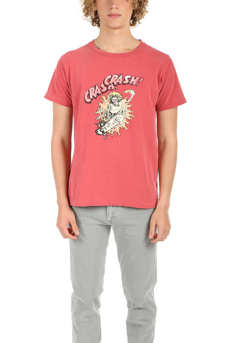 Remi Relief SP Finish Skull Crash T-Shirt - Red