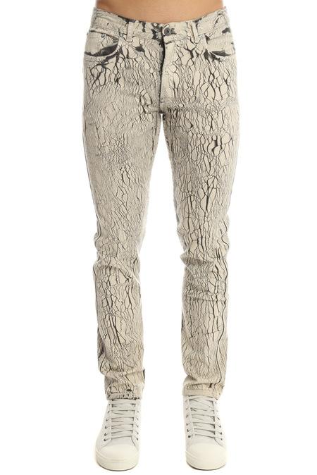 Robert Geller Type 2 Jeans - Shattered White