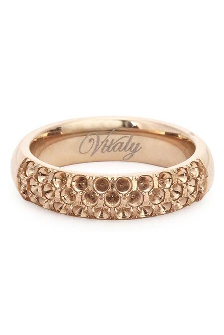 Vitaly Anti-Stone Ring - Gold