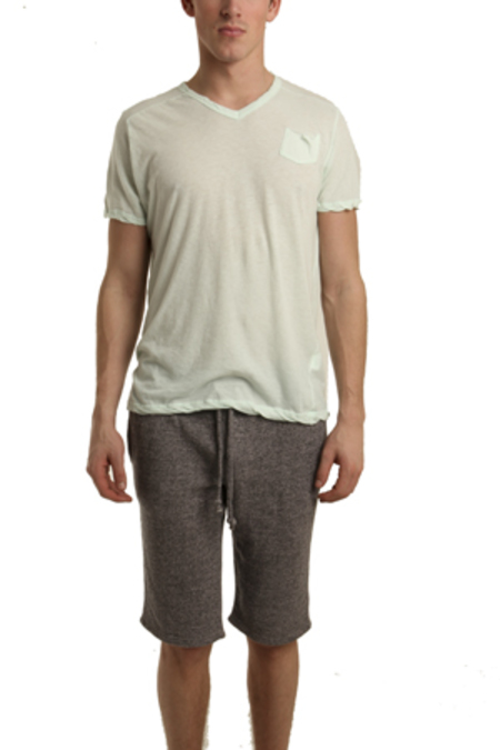 V :: ROOM V Neck Classic T-Shirt - Mint