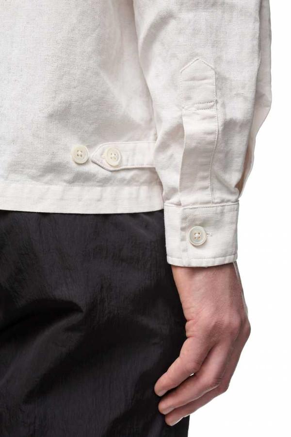 Men's OUR LEGACY - Coated Short Zip Shirt