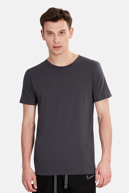 Jacks and Jokers Crewneck T-Shirt - Charcoal