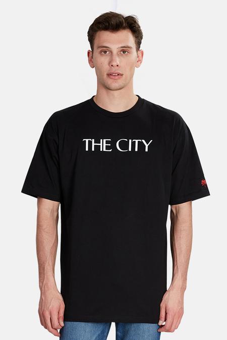 Blue&Cream x SSUR The City T-Shirt - Black