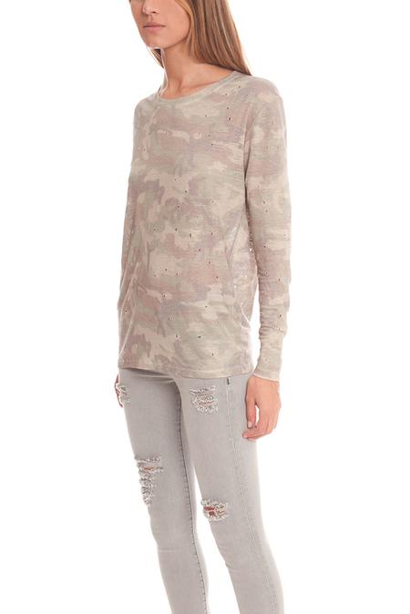 IRO Marvina Camo T-Shirt - Camouflage