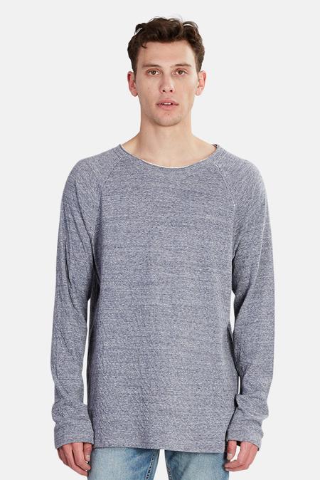 Blue&Cream Bowery Raglan Sweater - Light Navy