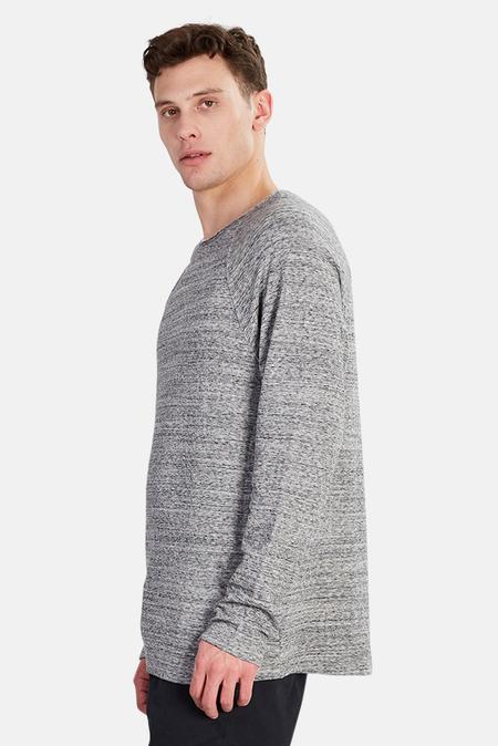 Blue&Cream Bowery Raglan Sweater - Grey