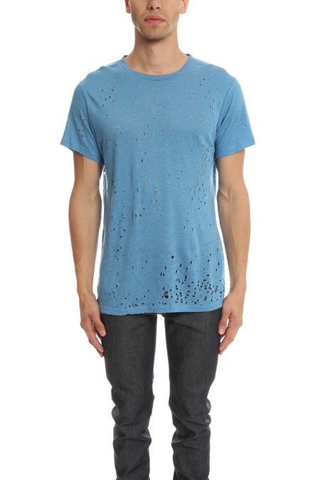 IRO Alessio Tee Shirt - Azure Blue