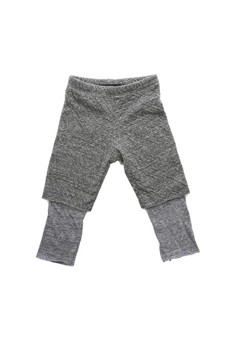 Kids Blue&Cream Schoolyard Swag Pants - Charcoal Navy