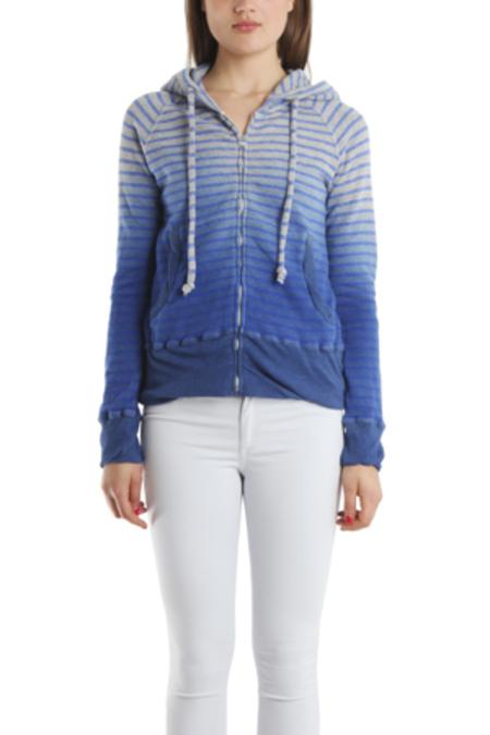 V::ROOM Dip Dye Hoody Sweater - Grey/Royal