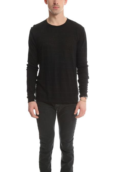 IRO Narce T-Shirt - Dark Grey/Black
