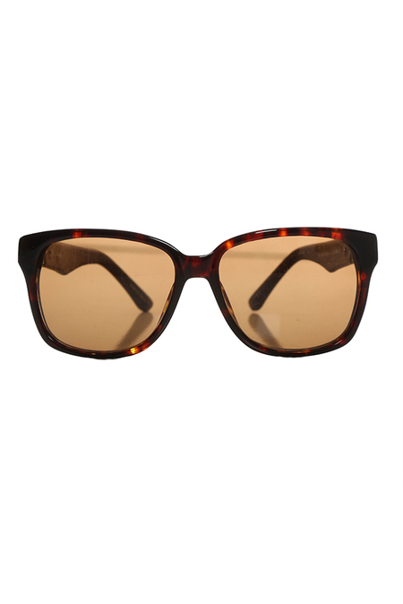 Linda Farrow x The Row ROW/20/2 Sunglasses - Tortoise