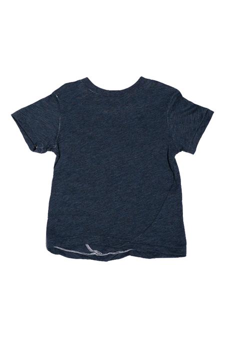 Kids Hopper Hunter Skip T-Shirt - Navy Slub Jersey