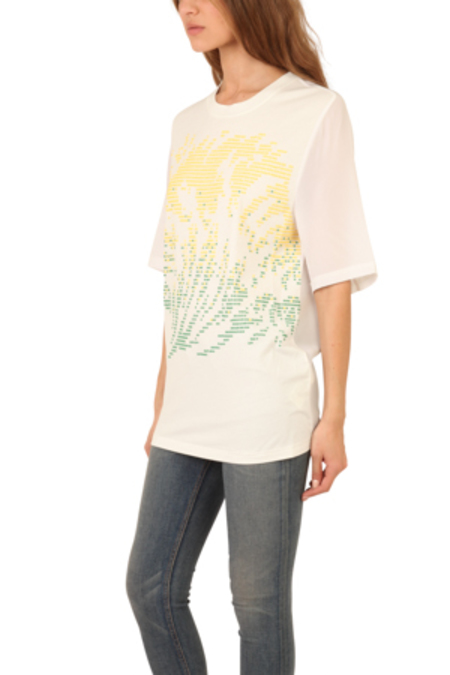 3.1 Phillip Lim Tidal Waves T-Shirt - White
