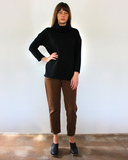 Esby ST. ANN TURTLENECK - BLACK