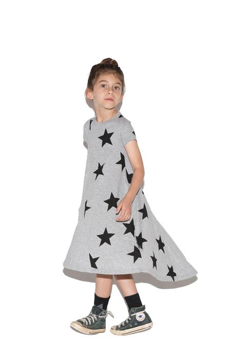 Nununu Star 360 Dress - Heather Grey