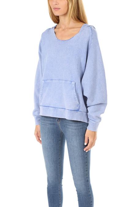 IRO Cube Pullover Sweater - Blue Creek