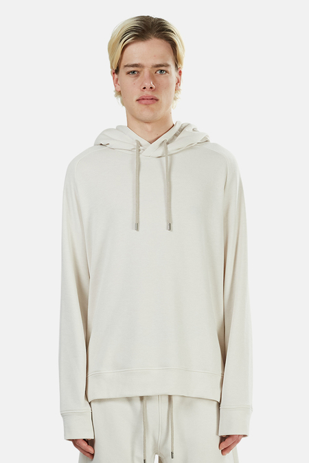 Wheelers.V Mason Pullover Hoodie Sweater - Crescent Cream