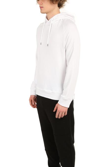 Wheelers.V Mason Pullover Hoodie Sweater - White