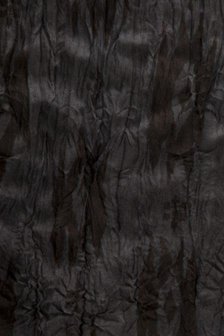 YIGAL AZROUEL Ikat Scarf - Black/Grey