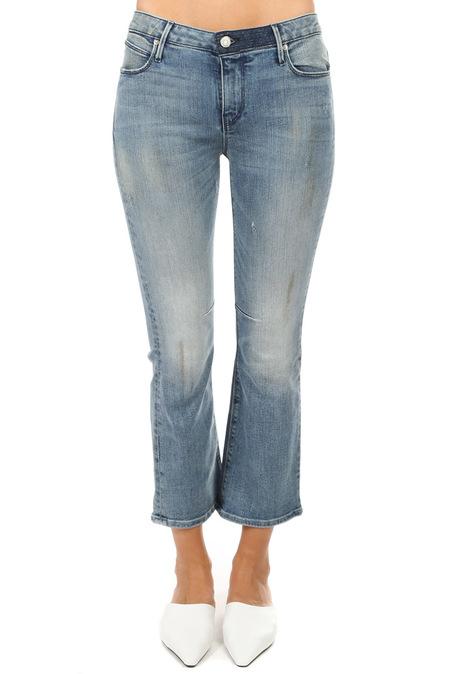 RtA Kiki Kick Flare Jeans - Blue Dependency