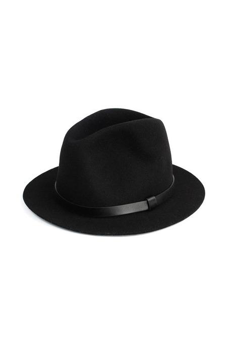 A.P.C. Chapeau De Peche Hat - Black