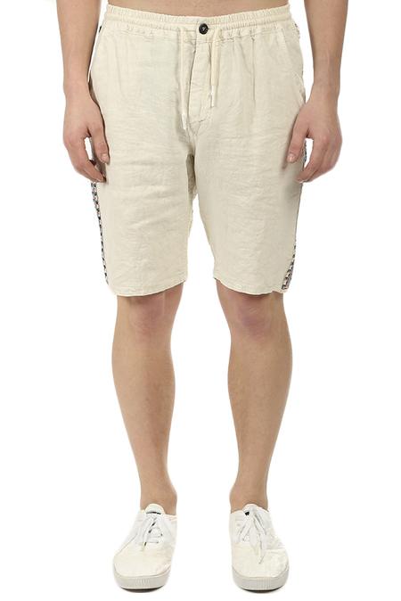 PRESIDENTS Tripoli Embellished Bermuda Shorts - Mastic