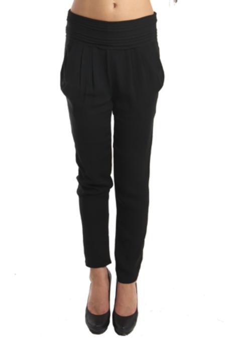 IRO Donna Relaxed Pants - Noir