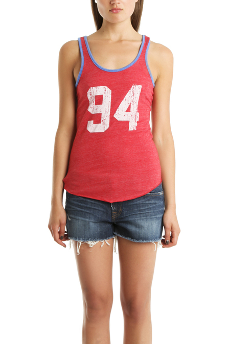 Blue&Cream x Gianni Ready To Die Tank Top - Red