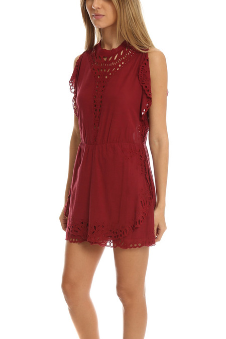 IRO Caidy Dress - Wine