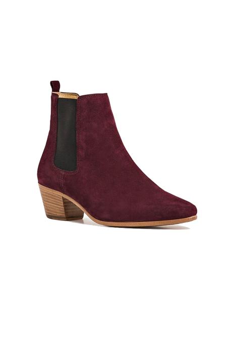IRO Yvette Boot Shoes - Burgundy