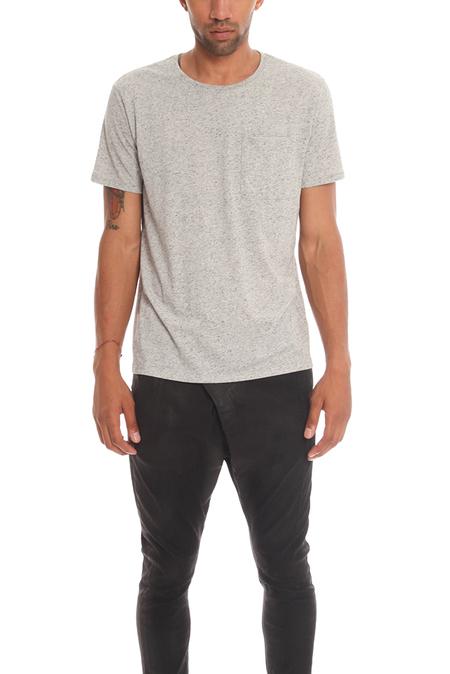ATM Pocket T-Shirt - heather Grey
