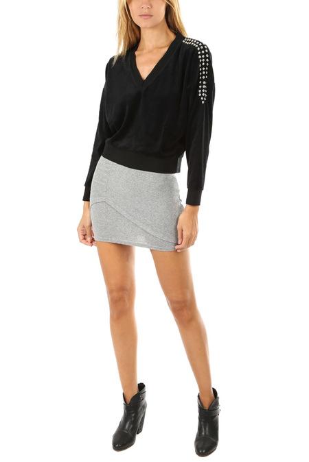 IRO Deep Skirt - Mixed Grey