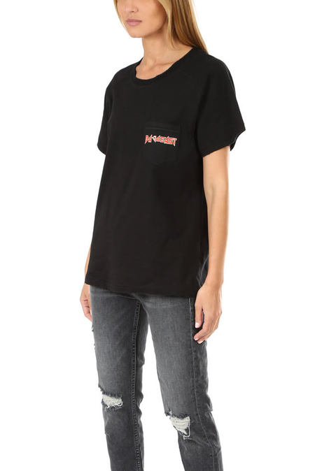 Baja East Tour Raglan Pocket T-Shirt - Black