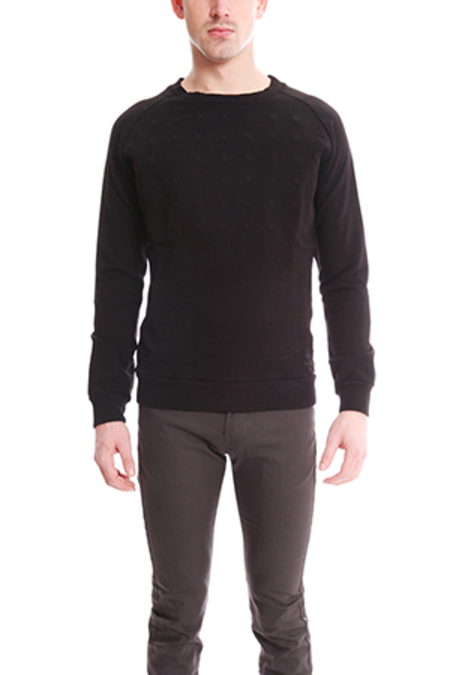 Pierre Balmain Covered Stud Sweater - Black