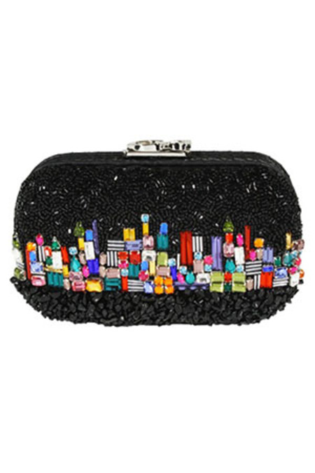 Corto Moltedo Susan C Star Skyline by Night Bag - Black multi