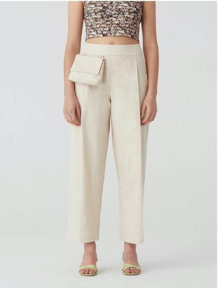 PALOMA WOOL JUEVES PANT - OFF-WHITE