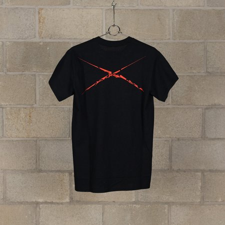 NEXUSVII. 3 Flags With Akira T-Shirt - Black/Red
