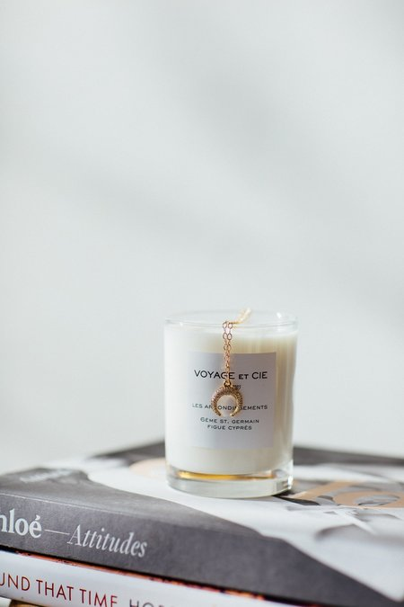 Voyage Et Cie 14oz Highball Candle