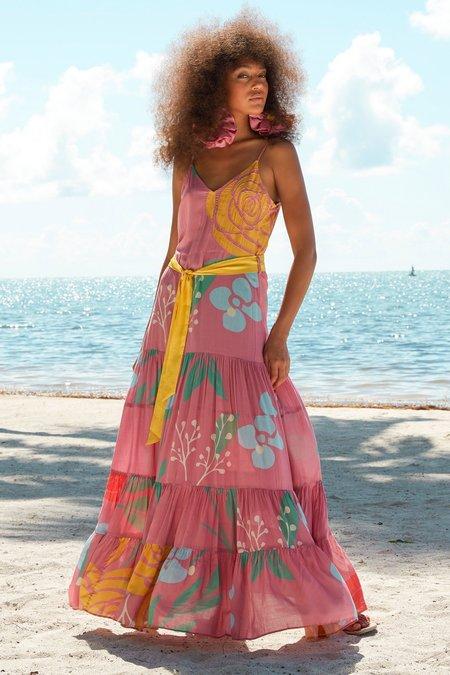 Carolina K Julia Dress - Wild Rose Peonies