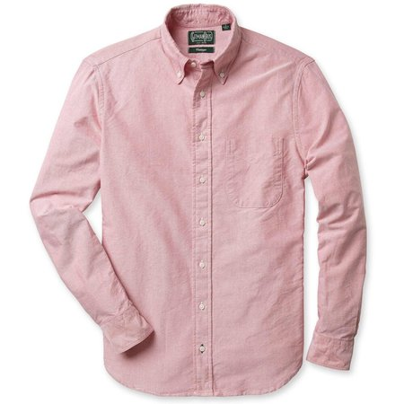 Gitman Bros. Oxford Shirt - Red