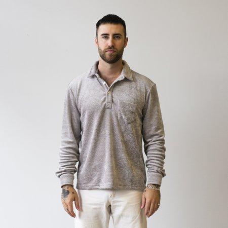 Freemans Sporting Club Long Sleeve Pullover - Grey