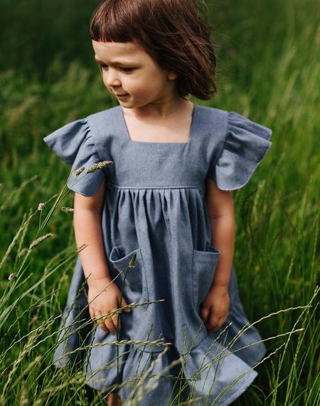 Kids Kiboro Denim Dress