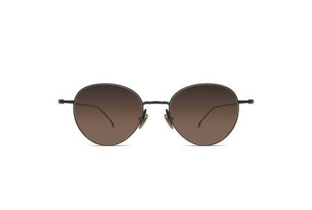 KOMONO Hailey Sunglasses - Black Gradient Brown